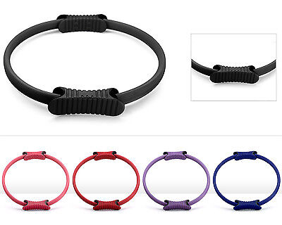 """Yes4All Pilates Ring Magic Circle Grip Yoga Fitness Trainer 14"""" - Black - ²SSEUF"""