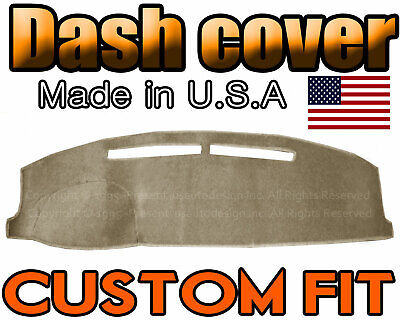 Fits 1972-1978 FORD  COURIER PICK UP DASH COVER MAT  DASHBOARD PAD  / BEIGE