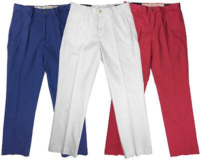 Ralph Lauren Polo Mens Stretch Classic Fit Chino Pants Red/White/Blue (Classic Fit Chino Pants)