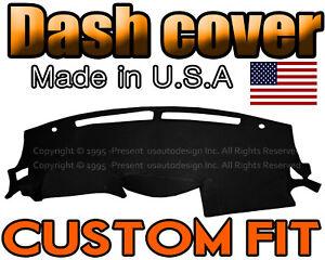 Fits 2009-2015 NISSAN MAXIMA DASH COVER MAT DASHBOARD PAD / BLACK
