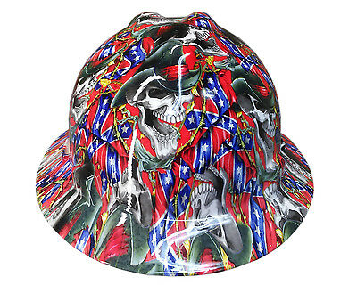 Rebel Msa V-guard Full Brim Hard Hat