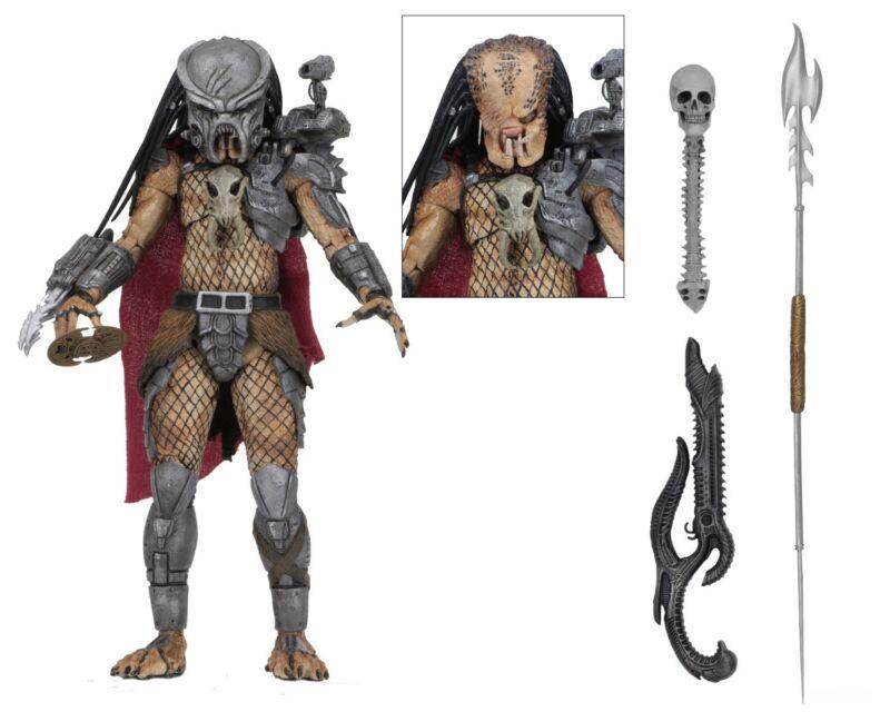 "Predator - 7"" Scale Action Figure - Ultimate Ahab Predator - Neca"