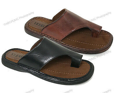 New Mens Slides Sandals Thong Comfortable Toe Flip Flops Casual Slip On Slippers