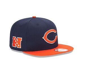 New-Era-950-CHICAGO-BEARS-Baycik-Team-Snapback-Cap-NFL-Adjustable-Hat-9Fifty-M-L
