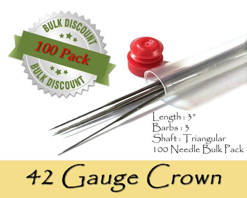 42 Gauge crown felting needles - Wholesale
