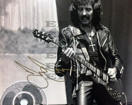 Tony Lommi Black Sabbath Autographed Signed 8x10 Photo Reprint