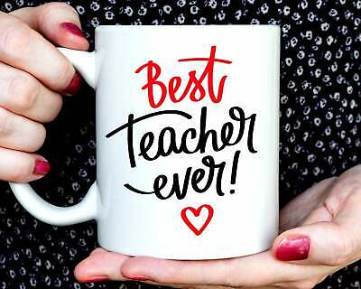 Best Teacher Ever mug - Teacher gift - Teacher present - Teacher