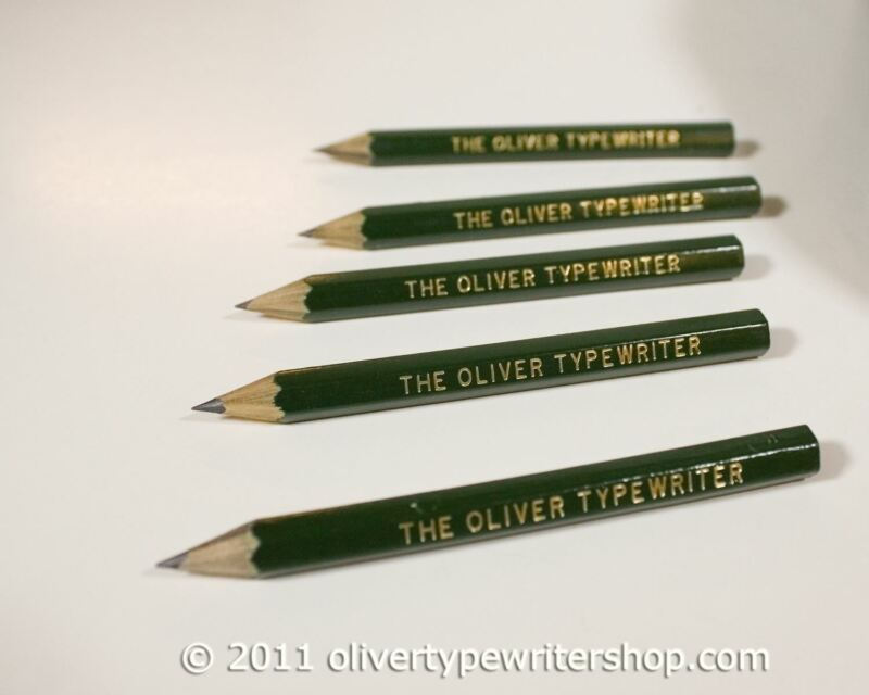 Pencils for Oliver Typewriters