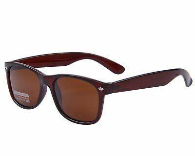 NEW MERRY S Retro Rewind Classic Polarized Sunglasses S683 Brown (Retro Rewind Classic Polarized Sunglasses)