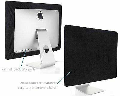 Screen Cover for iMac 27-inch Display Monitor LCD Dust Protector - BLACK