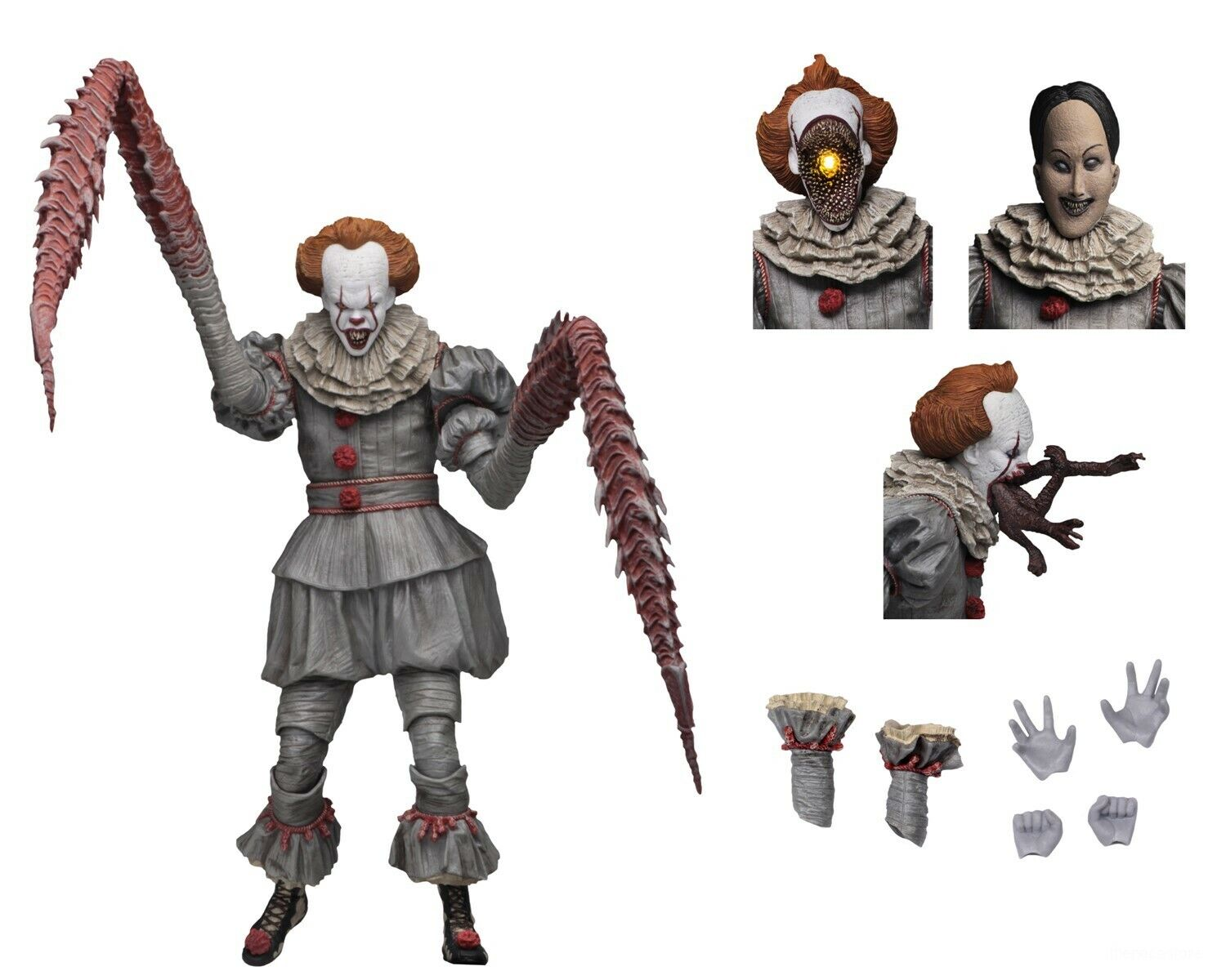 "IT - 7"" Scale Action Figure - Ultimate Pennywise The Danci"