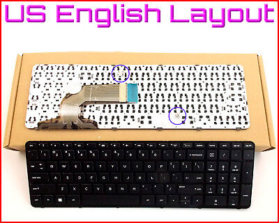 New Laptop US Keyboard For HP Pavilion 15-G 15-n069nr 15-n089nr With Frame , used for sale  Shipping to Canada
