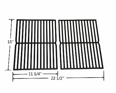 HyG752B Cast Iron Grill Grates for Weber Spirit 200 Series, Spirit 500 Grills