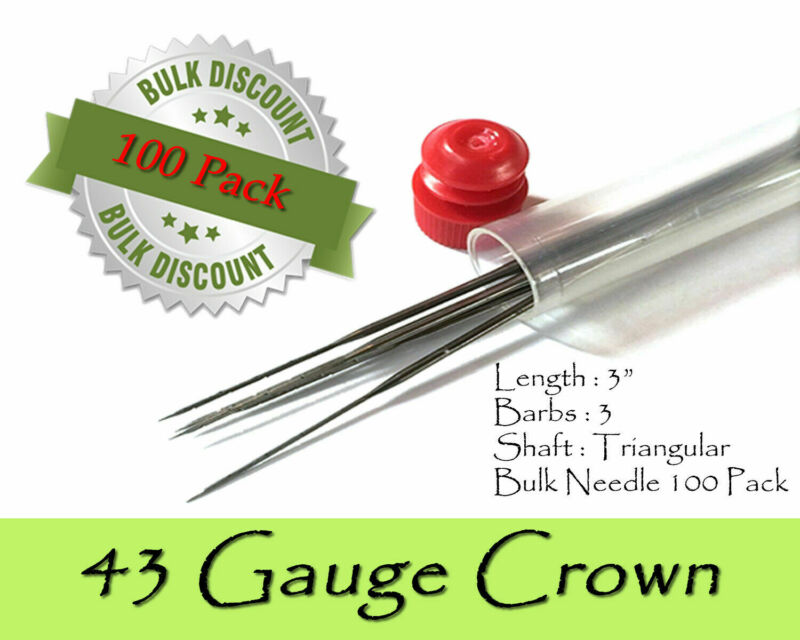 43 Gauge crown felting needles - Wholesale