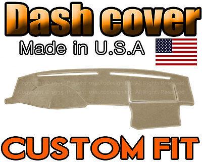Fits  2001 - 2005   HONDA  CIVIC  DASH COVER MAT  DASHBOARD PAD  /  BEIGE