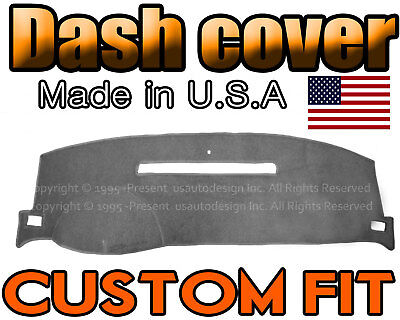 fits 2008-2013 CHEVROLET SILVERADO 1500 2500 3500 DASH COVER MAT / CHARCOAL GREY