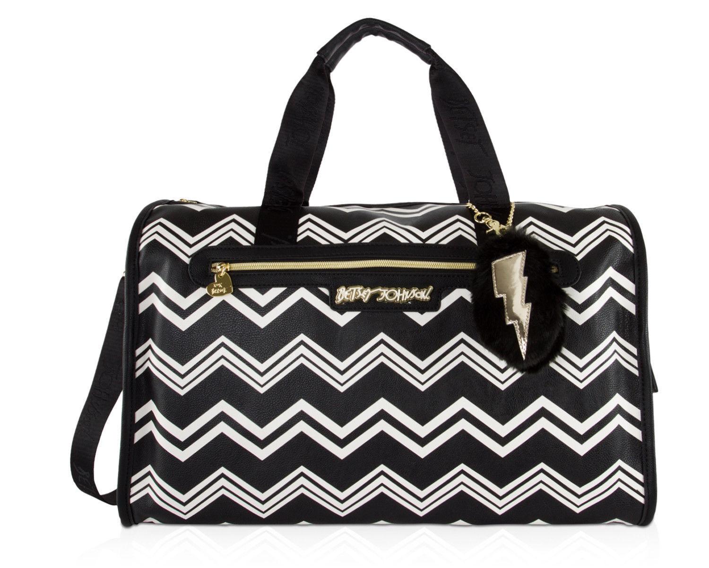 Betsey Johnson Weekender Travel Duffel Luggage Carry-On Trav