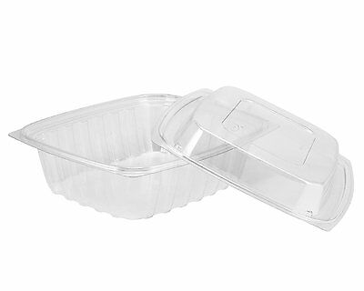 Dart C24DER, 24 Oz ClearPac Clear Rectangular Plastic Container (Lids are sold s Dart Container Clearpac