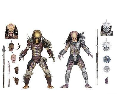 "Predator - 7"" Scale Action Figures - Ultimate Bad Blood vs Enforcer 2-Pack NECA"