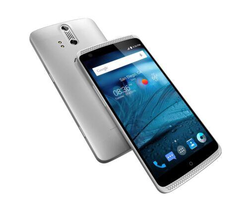 ZTE Axon 4G Unlocked Smartphone 5.5 32GB 2GB Silver NEW