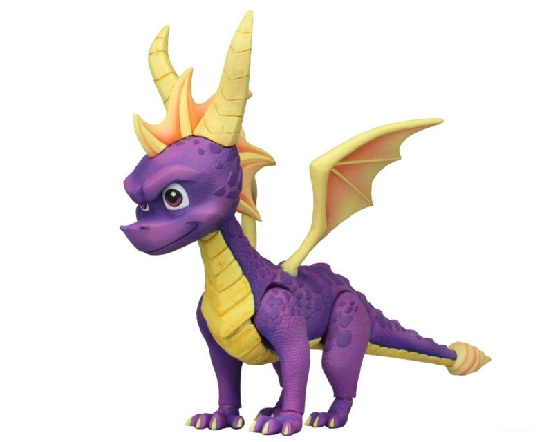 "Spyro The Dragon - 7"" Scale Action Figure - Spyro - NECA"