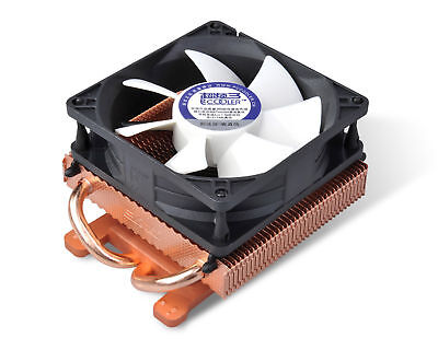 PcCooler K80 Copper VGA Cooler 2 HP 80mm Cooling Fan & Heatsink 43mm 53mm 55mm