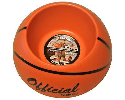 Pet Food/Water Bowl/Dish-Small Cat/Dog Anti-skid BPA Free! Medium Basketball