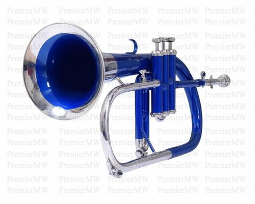 Flugel Horn 3 Valve, Bb/F (Blue+Nickel)