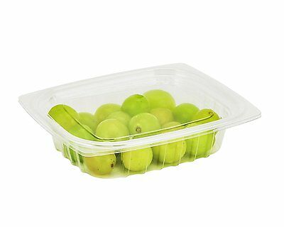 Dart Solo Container Dart 8 oz. ClearPac Plastic Deli Food Fruit Container (100) Dart Container Clearpac