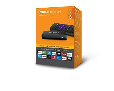 Roku Premiere 3920R 4K/HDR/HD Media Streamer 2018 - NEW RELEASE
