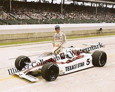 TOM SNEVA 1983 INDY 500 WINNER AUTO RACING 8X10 PHOTO
