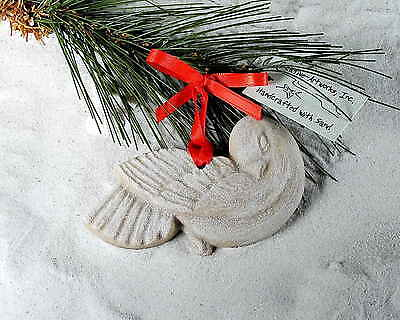 DOVE Made with Sand Tropical Beach Christmas Ornament - Dove Ornaments