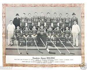 1933-34-MONTREAL-CANADIENS-8X10-TEAM-PHOTO-PICTURE-MORENZ-JOLIAT