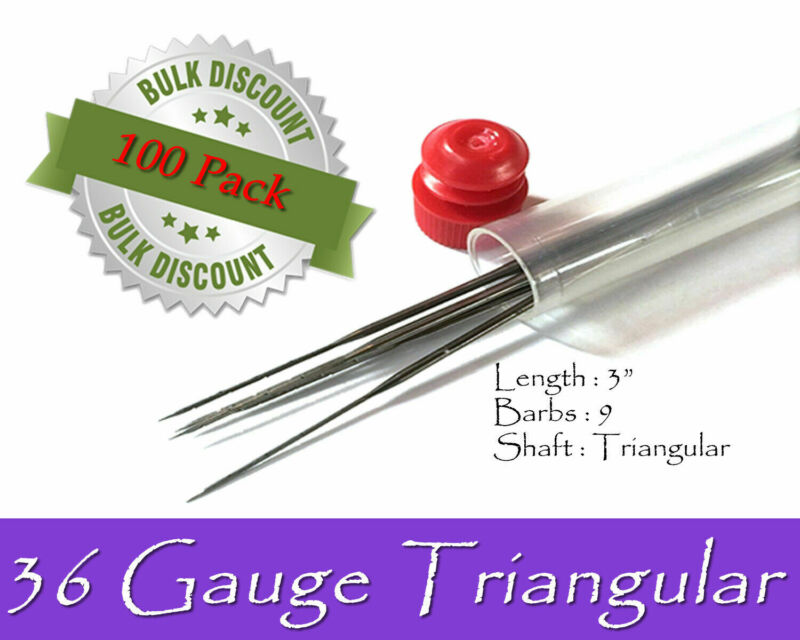 36 Gauge triangular felting needles - Wholesale