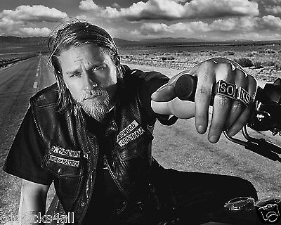 Charlie Hunnam   Sons Of Anarchy 8 X 10   8X10 Glossy Photo Picture Image  4