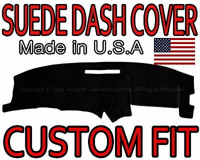 fits 1994-1996 CHEVROLET CORVETTE SUEDE DASH COVER MAT DASHBOARD PAD / BLACK