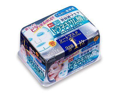 Kose Clear Turn White Face Skin Mask 30 sheets japan Tranexamic acid