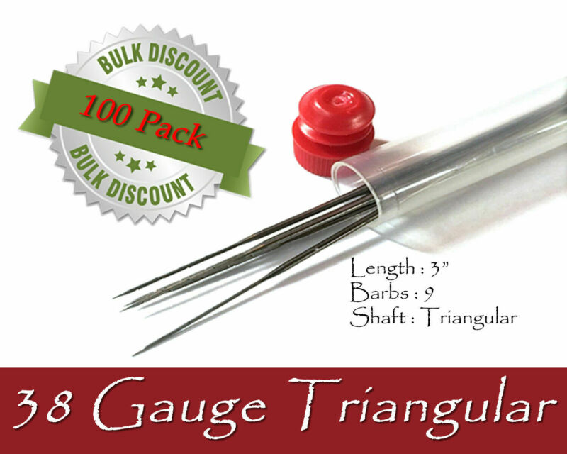 38 Gauge triangular felting needles - Wholesale