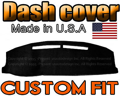 Fits 1991-1994  CHEVROLET CAVALIER  DASH COVER MAT  DASHBOARD PAD / BLACK