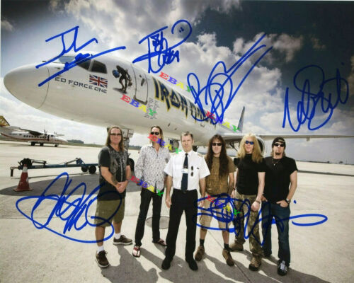 Iron Maiden Autographed Signed Photo Reprint