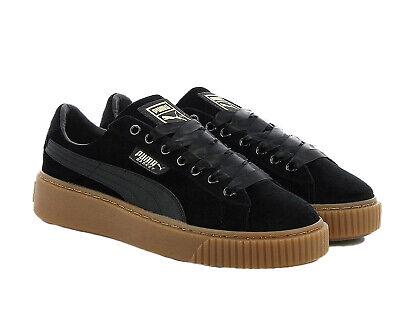 Puma Basket Platform VS Damen Schuhe Sneaker Womens 366721 03 Turnschuhe Schwarz