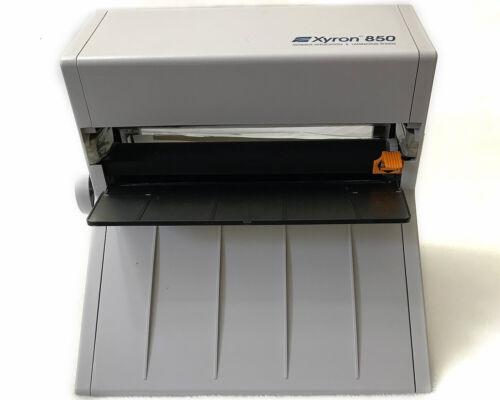 Xyron 850 Adhesive Application And Laminating System