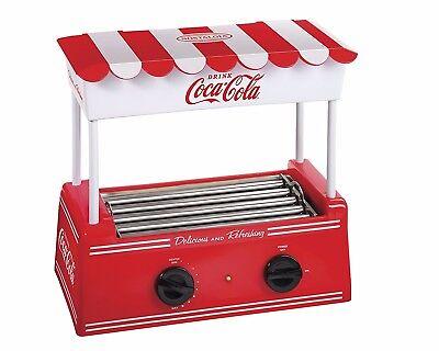 Nostalgia Electronics Coca Cola Series Hot Dog Roller And Bun Warmer