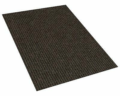 Brown Indoor/Outdoor Area Rug Carpet with a Rubber Backing 1