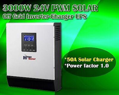 3kva 3000w 24v Solar PV Wechselrichter mit 50A Solar Laderegler