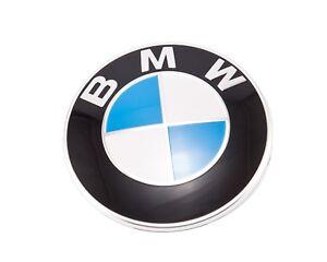 bmw genuine hood roundel emblem badge insignia bmw e90. Black Bedroom Furniture Sets. Home Design Ideas