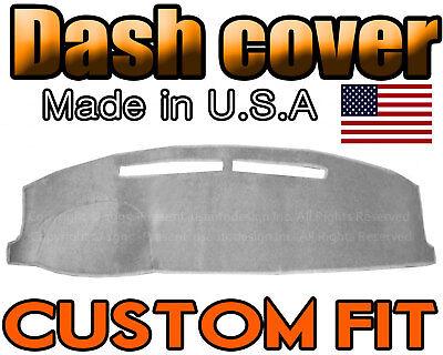 Fits 1991-1994  CHEVROLET CAVALIER  DASH COVER MAT  DASHBOARD PAD / LIGHT GREY