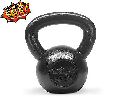 Kettlebell 35 lbs Hand Weight Fitness Body Training Exercise Cap Gym - ²KJ24C