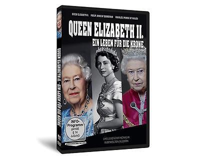 Die Königin QUEEN ELIZABETH II - EIN LEBEN FÜR DIE KRONE England Royals DVD Neu