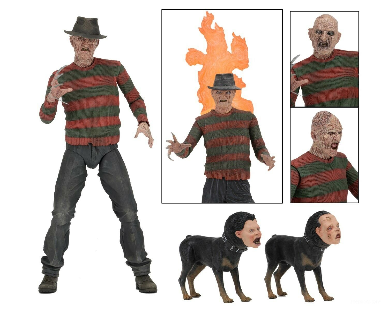 "Nightmare on Elm Street NECA 7/"" Ultimate Action Figure Part 2 Freddy"